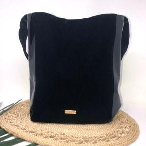 Carolina Herrera Good Girl Patent Velvet Handbag
